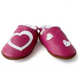Calzado bebe niña. Zapatos de suela blanda