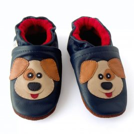 Calzado adecuado para bebé diseño perro