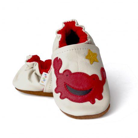 zapato para primeros pasos del bebé