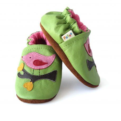 zapato suave empezar caminar