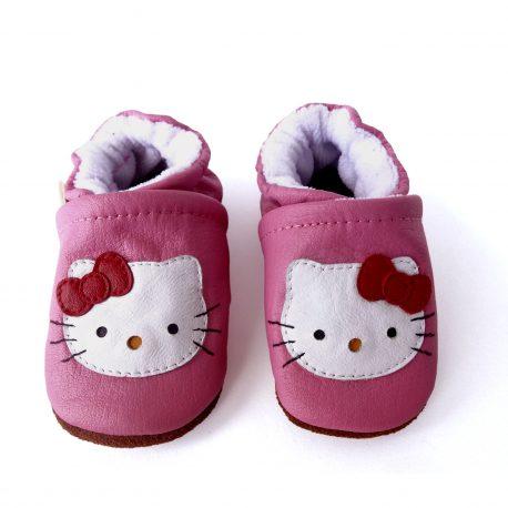 zapatos para bebes niñas (Hello Kitty)