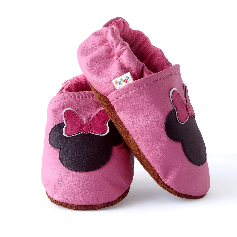2c66651ba2345 Zapatos para bebe sin suela. Minnie - Patos Zapatos