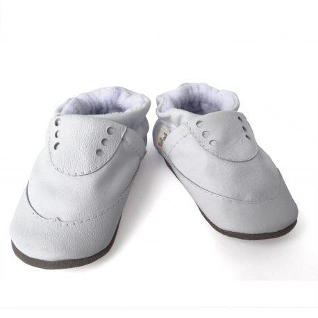 Zapatos blancos para bebés niños y niñas