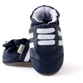 Calzado antideslizante para bebé.